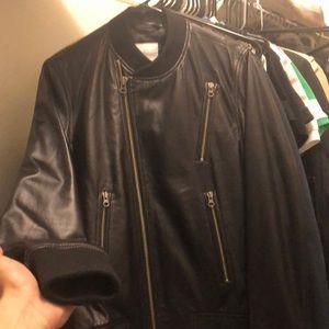 J. Lindeberg leather jacket